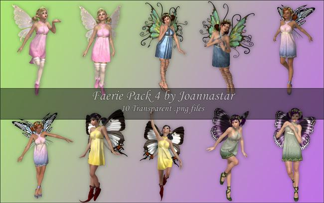 Faeries Pack 4