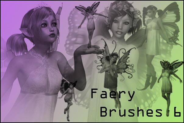 Faery Brushes 6 by joannastar-stock