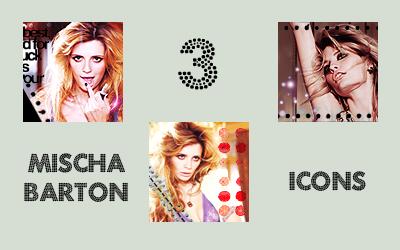 096. Mischa Barton 3 icons by chew094