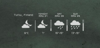 Tango Weather Monitor Mod by Dasbaer