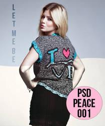 Peace PSD by LetMeBe-Blog