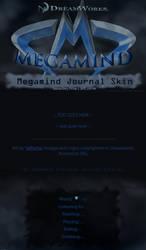 Megamind Journal Skin by JeffrettaLyn