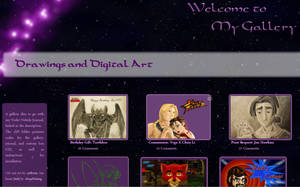 Violet Nebula Gallery CSS by JeffrettaLyn