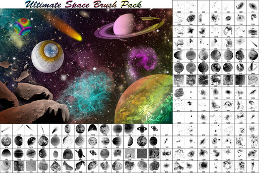 Ultimate Space Brush Pack - Part 1