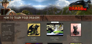How To Train Your Dragon Gallery CSS