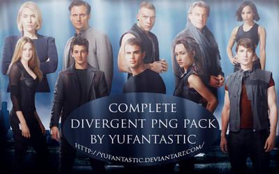 Divergent PNG Pack