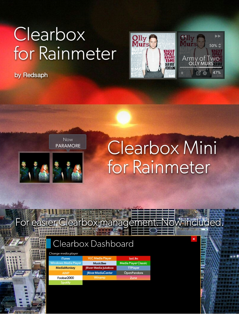 Clearbox for Rainmeter [v1.1 | 5/May/2014]