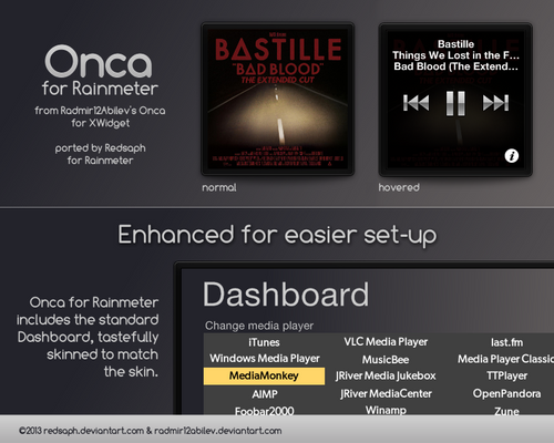 Onca for Rainmeter [v1.1 | 5/May/2014]
