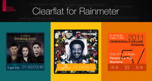 Clearflat for Rainmeter [v1.1 | 5/May/2014]