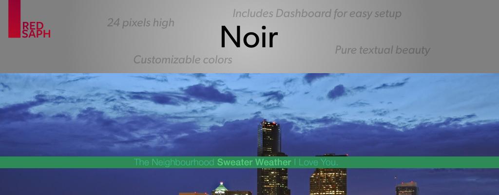 Noir for Rainmeter [v1.1 | 5/May/2014]