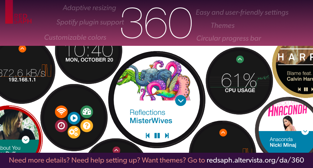 360 for Rainmeter [Old version] by Redsaph
