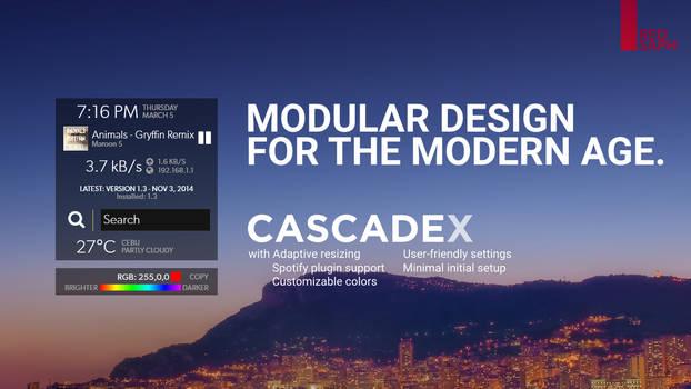 CASCADEx for Rainmeter [v1.3.2 | 17 March 2015]