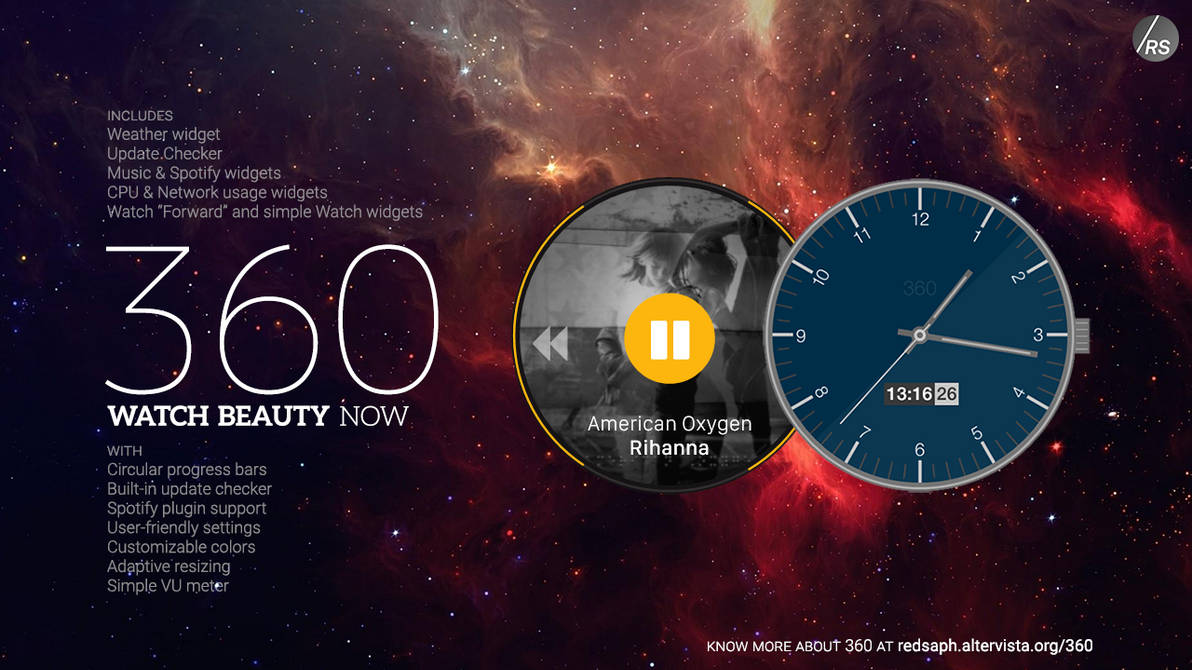 360 for Rainmeter [v4 3   16/May/2015] by Redsaph on DeviantArt