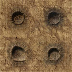 RPG Map Tile - Crater