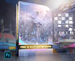 FREE 30 SCI-FI CUSTOM SHAPES - PACK 73 by ERA7