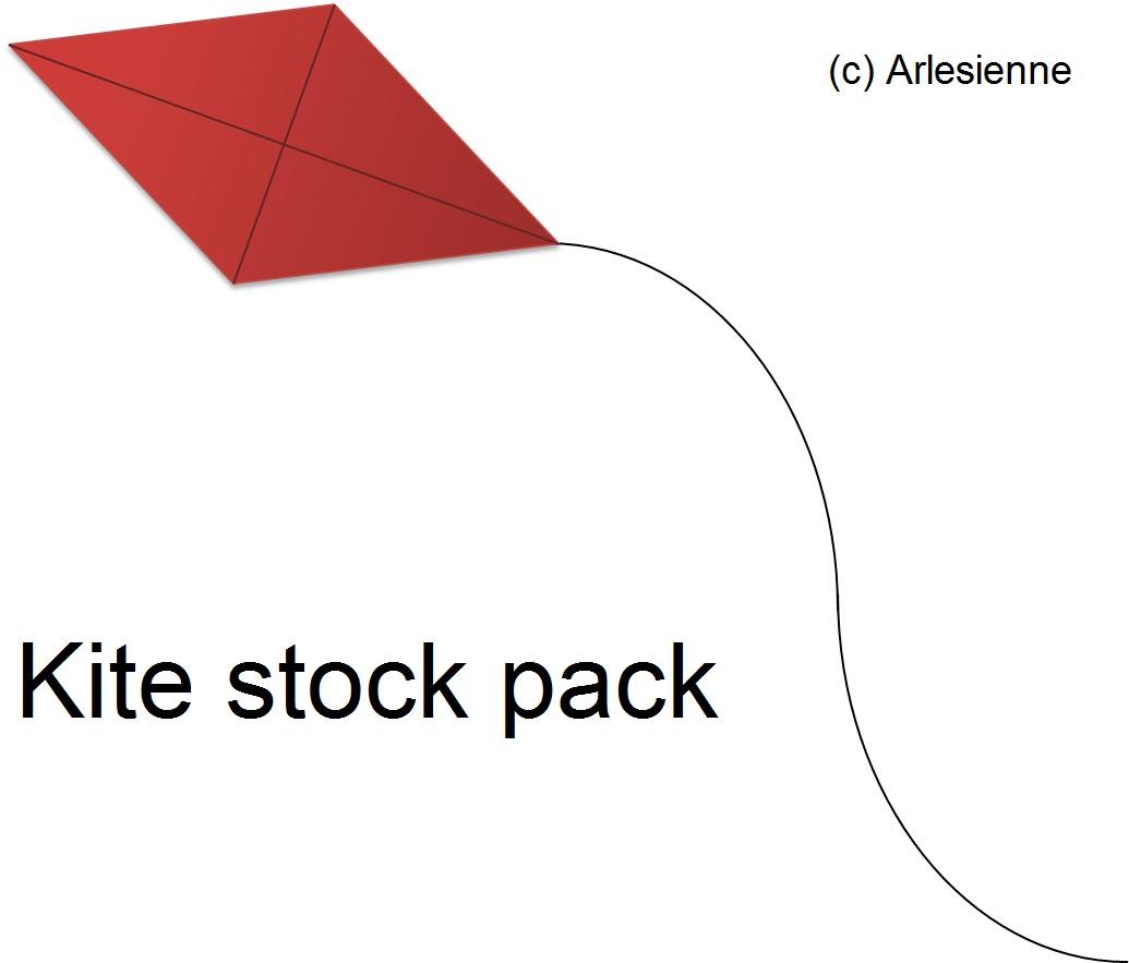 Kite stock pack by Arlesienne by Arlesienne