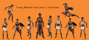 Young Rhulana stock pack