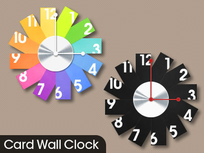 Card Wall Clock for Samurize