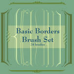 Basic Borders Brush Set 1