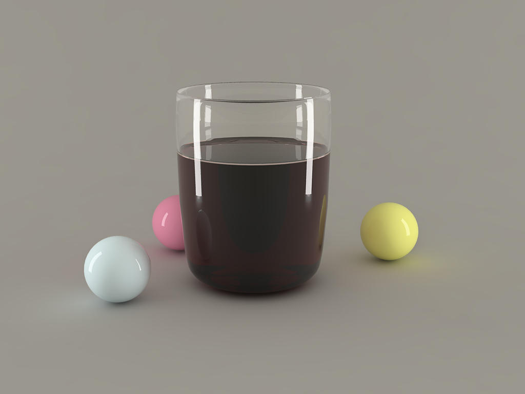 Glass and Balls by drawn