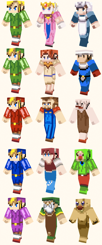 Minecraft Zelda Skins Zelda - Skins para minecraft zelda