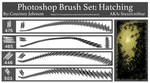 Hatching Brush Set by CourtneysConcepts
