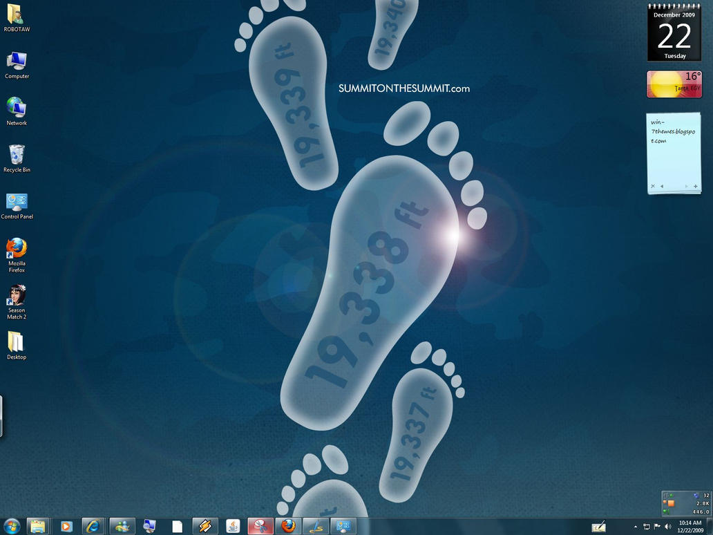 Summit Windows 7 Theme by yonited