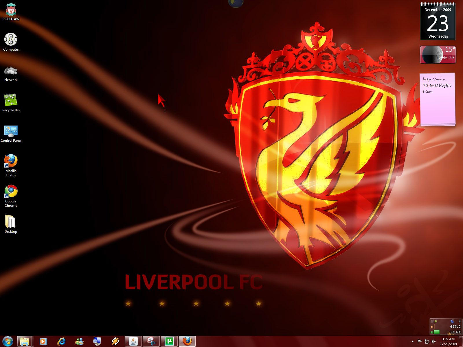 LiverPool Windows 7 Theme by yonited