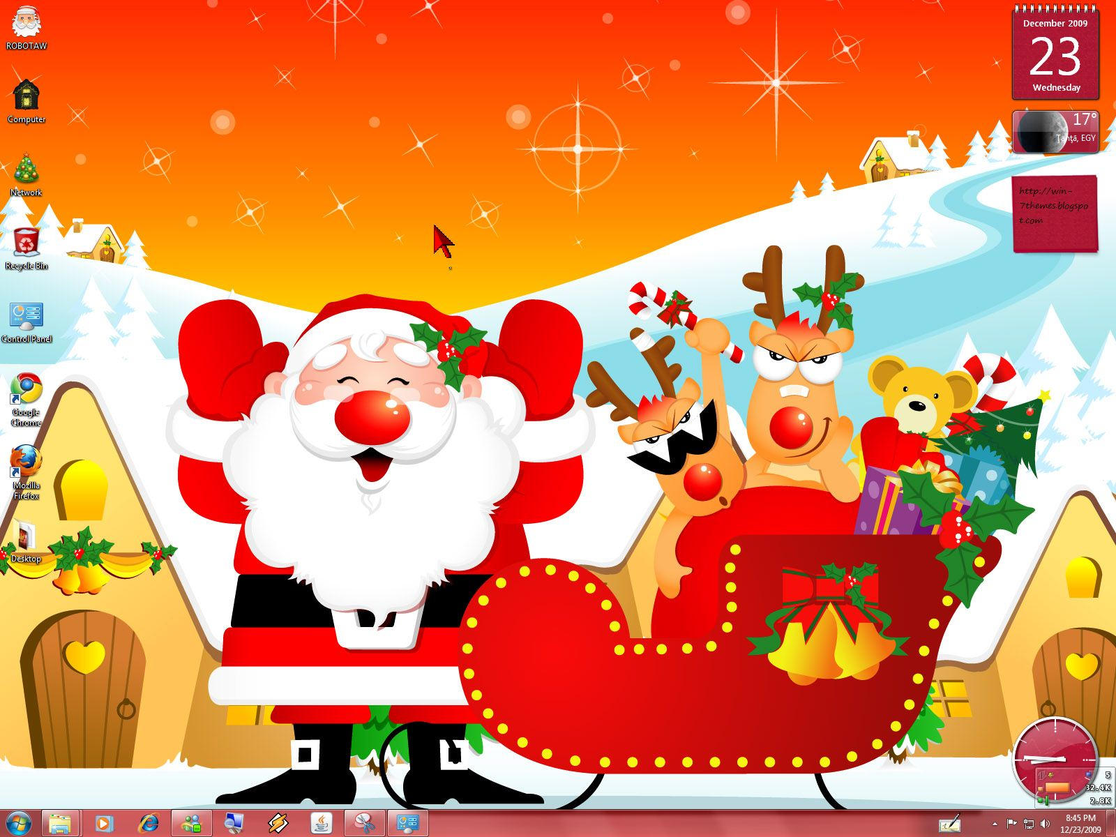 christmas windows 7 theme by yonited christmas windows 7 theme by yonited