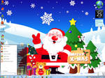 Blue Christmas Windows 7 Theme