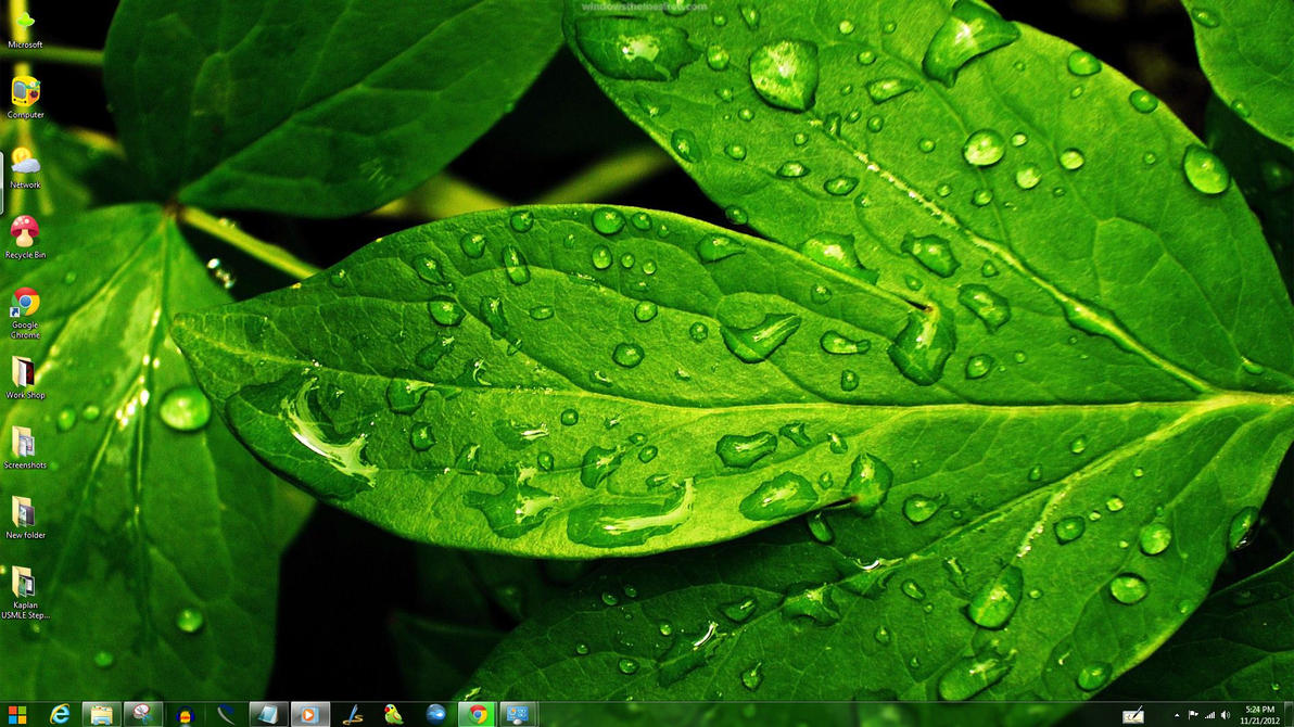 Green Windows Theme By Yonited On Deviantart