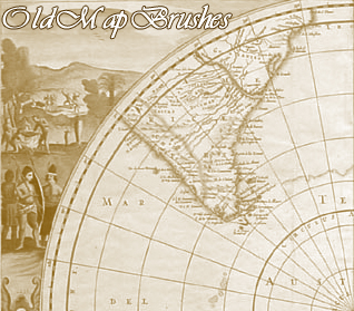Old Map Brushes