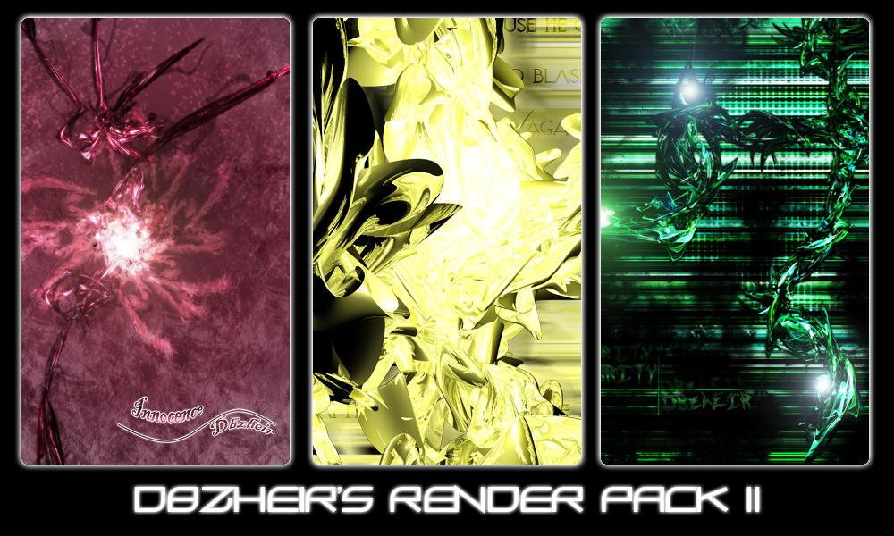 Dbzheir Render Pack II by Dbzheir