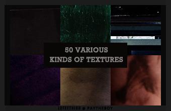 50 Various Textures by 12feethigh by composingaburlesque