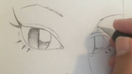 Drawing the eyes of Medusa