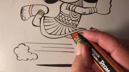 Drawing Cartoon - Teckna cartoon