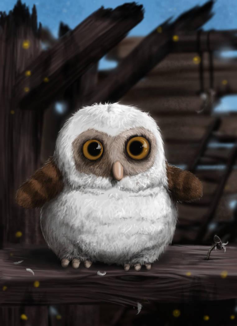 Картинки анимации про сов