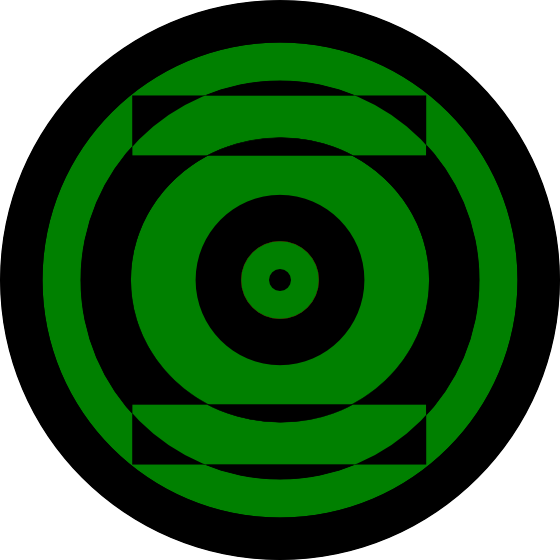 how to draw green lantern symbol
