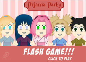 Naruto Girls Pijama Party by Suxius