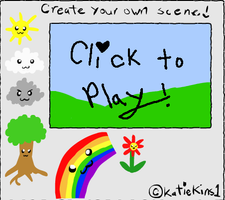Flash Game: Create a scene by KteaCrumpet