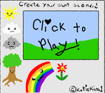 Flash Game: Create a scene
