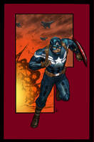 Captain America Mar. 16 2014 by Timothy-Brown