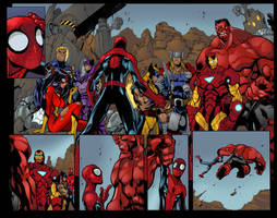 Avenging Spider Man 1 Pages 8 and 9 Apr. 10 2014 by Timothy-Brown