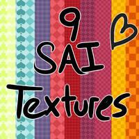 9 SAI Textures by DemonoidZero
