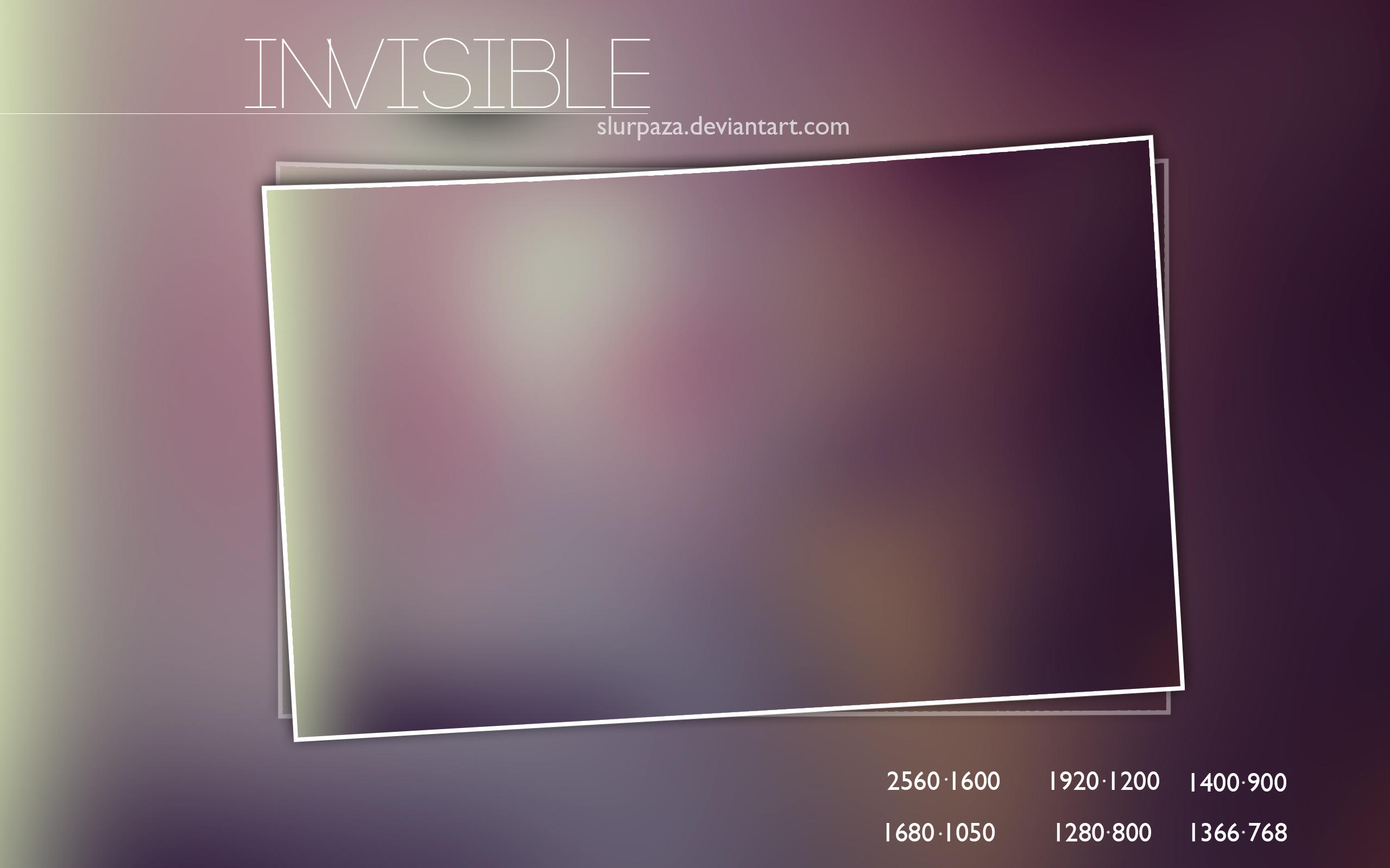 Invisible by Slurpaza
