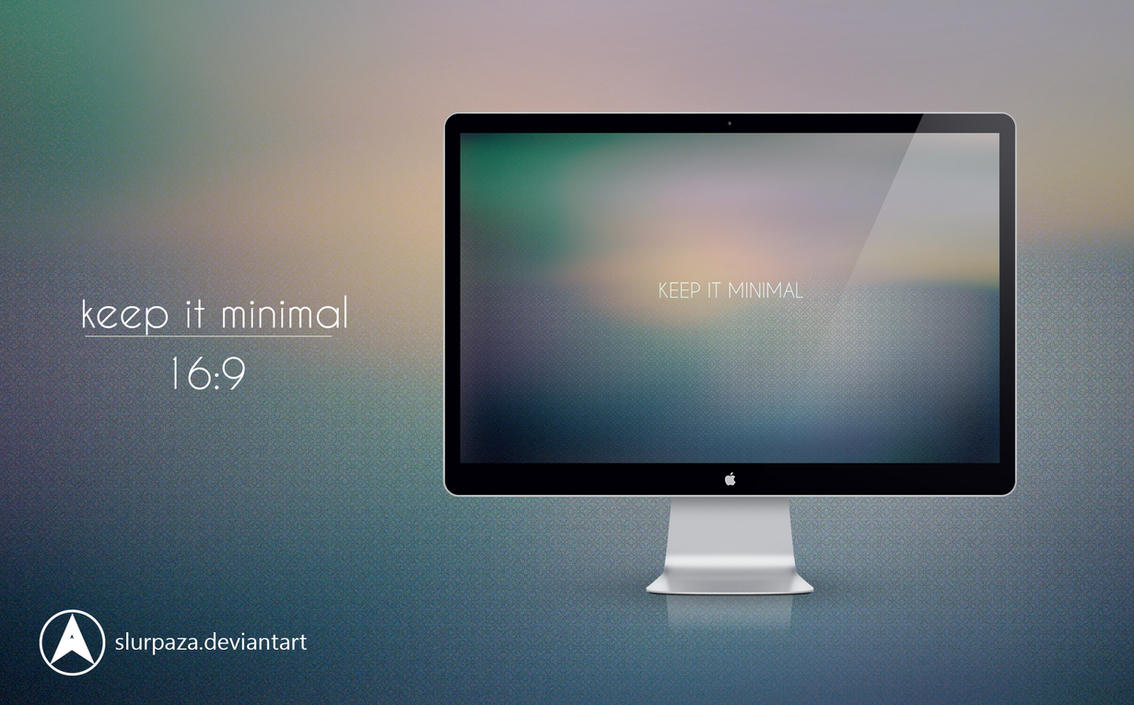 Keep it minimal by slurpaza on deviantart for Deviantart minimal wallpaper