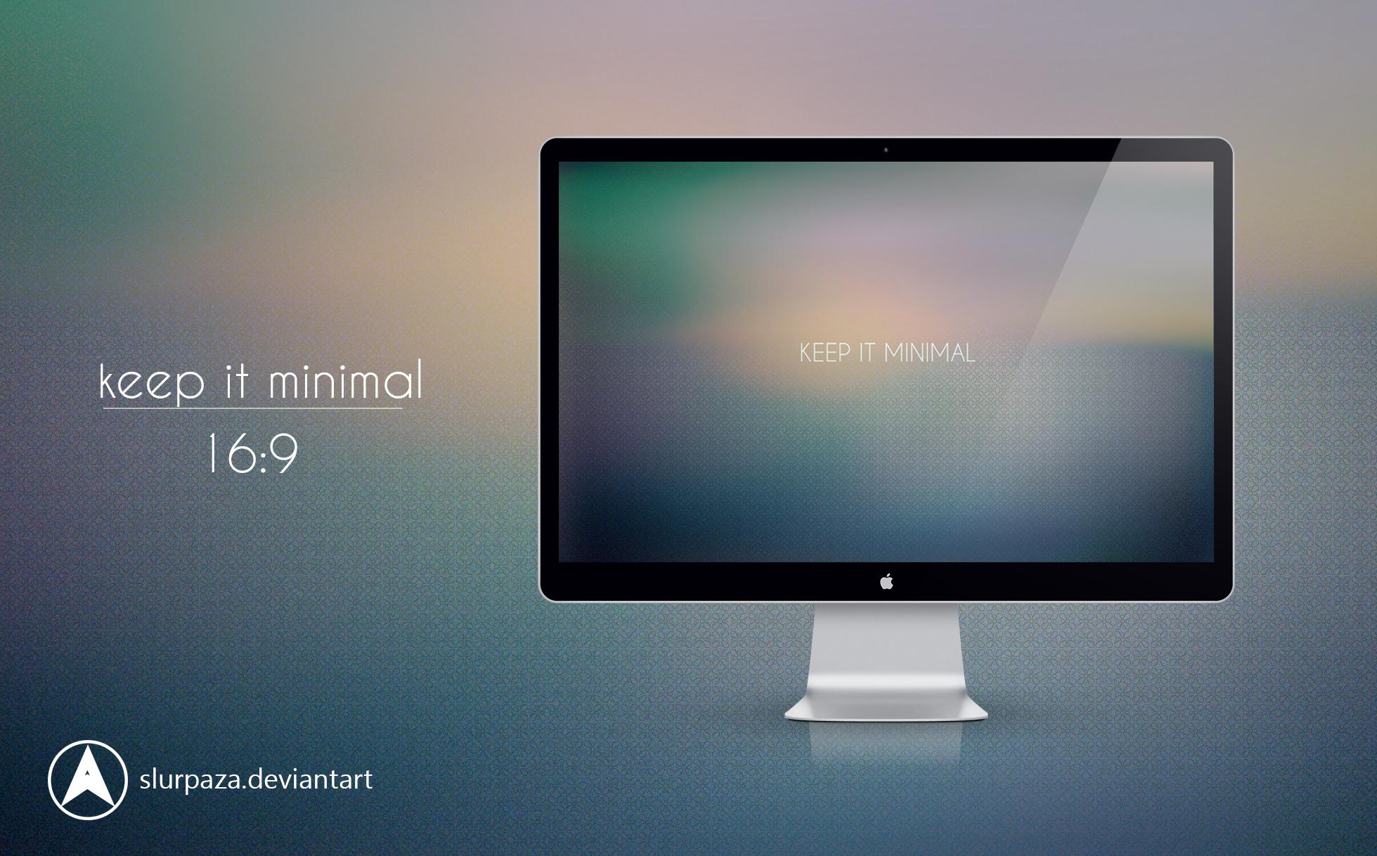 keep it minimal by Slurpaza