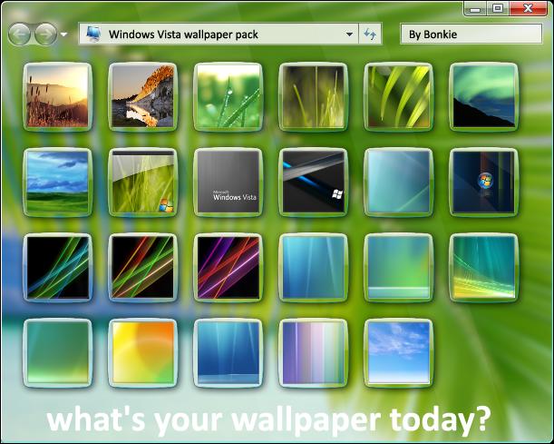 Windows Vista Wallpaper Pack By Bonkietje