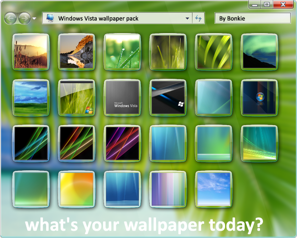 Windows Vista Wallpaper Pack By Bonkietje
