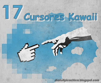 17 Cursores Kawaii~ by LaniNila